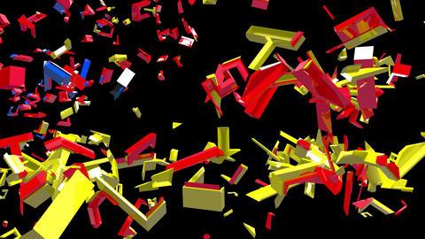 4K Text Bumper US China Trade War 3 Videos animados