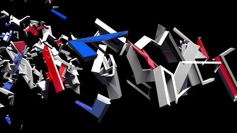 4K Text Bumper BREXIT 1 Animation