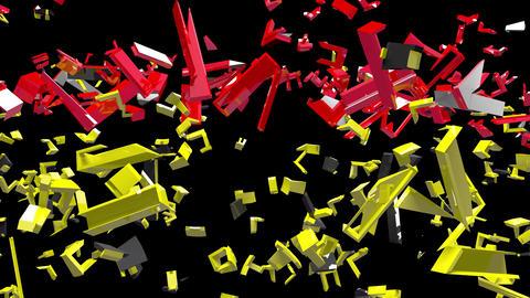 4K Text Bumper Plunging Stocks 1 Videos animados