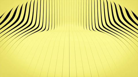 waving 3d rendered stripes Animation