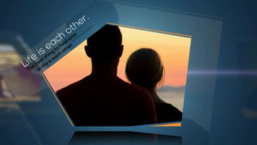 Mask slide show After Effects Template