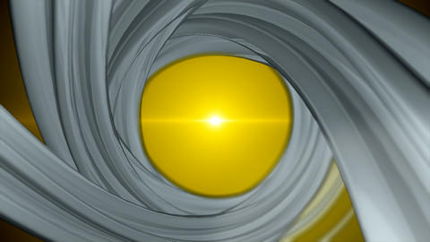 Abstract rotating spiral background Animation
