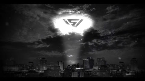 SUPERHERO LOGO After Effects Template