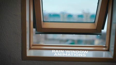 Rain Window Animations - 1