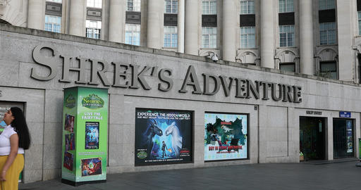 Shrek Adventure London Footage