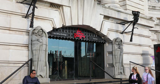 The London Dungeon Footage