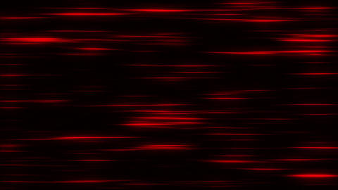 Red Flowing Horizontal Light Stripes Loop Motion Background, Stock Animation