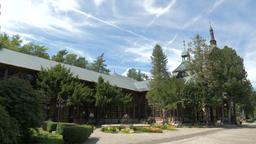 Swieradow Zdroj - spa town in Poland. Traditional remedy centre in the Spa House Live Action