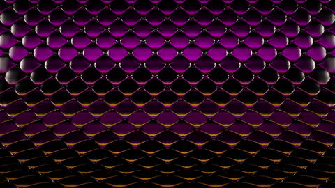 3D animation of purple quilted surface with beautiful highlights. Realistic animation of high Animation