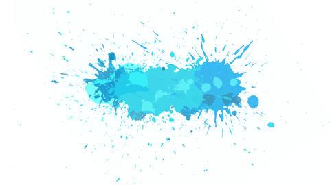 Blue blot on alpha channel Animation
