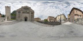 The Cathedral of Santa Maria Assunta in Gemona del Friuli, Italy VR 360° Photo