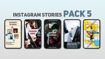 Instagram Stories Pack 5 After Effects Template
