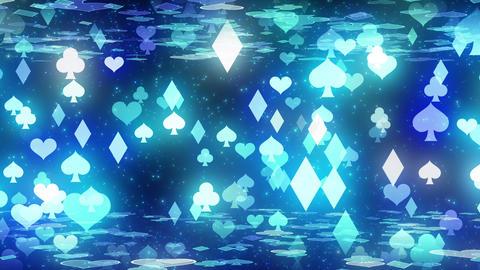 Object floor cards bl Animation