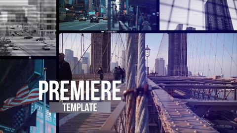 Multiframe Media Opener Premiere Pro Template