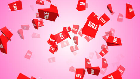 Sale bag Stock Video Footage