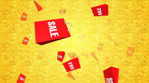 Sale bag Stock Video Footage