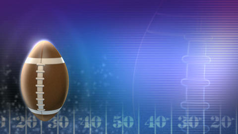 Football Title Background 002 stock footage