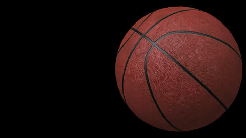 Basketball, loop seamless, animation Stock Video Footage