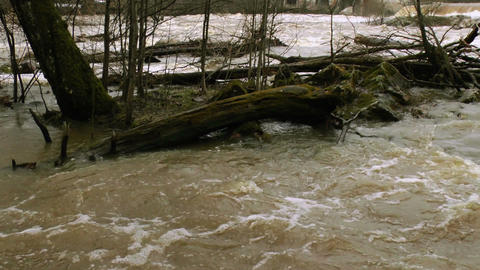 Waterfall in a river 5 Stock Video Footage