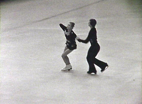 Figure skating. Newsreel of the USSR Footage
