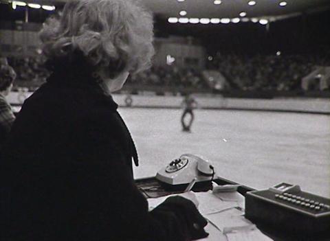 Figure skating. Newsreel of the USSR Stock Video Footage