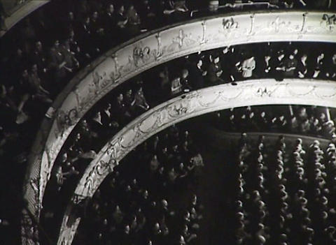The party Congress. Newsreel of the USSR Stock Video Footage