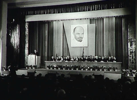 The party Congress. Newsreel of the USSR Footage