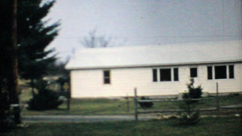 Old House In The Country 1968 Vintage 8mm film Footage