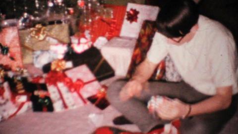 Young Man Gets Socks For Christmas 1967 Vintage 8mm film Live Action
