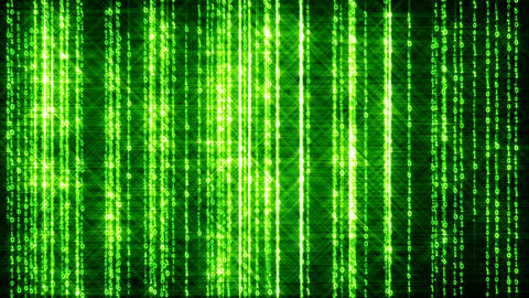 Binary Fashion Wall 8 Stock Video Footage