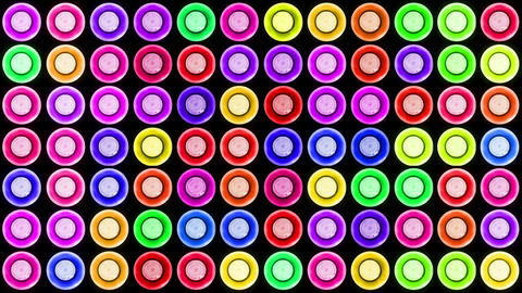 Colorful Led Lights Flashing 2 Stock Video Footage