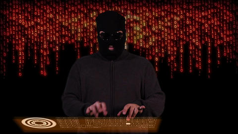 Hacker Breaking System Fail 10 Stock Video Footage