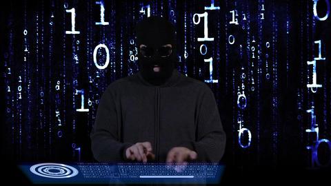 Hacker Breaking System Fail 16 Stock Video Footage