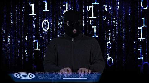 Hacker Breaking System Success 19 Stock Video Footage