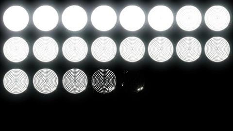 Led Lights 1 Stock Video Footage