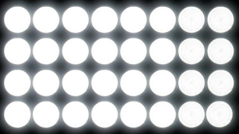 Led Lights 3 Stock Video Footage