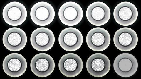 Led Lights Flashing 1 Stock Video Footage
