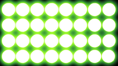 Led   Lights   Green  3 stock footage