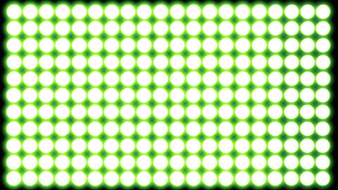 Led   Lights   Green  5 stock footage
