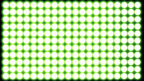Led Lights Green 5 Animation