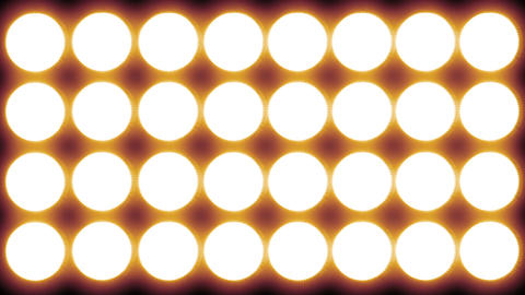 Led Lights Red 2 stock footage