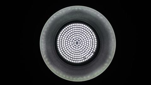 Medium Light Reflector Changing Intensity 1 Stock Video Footage