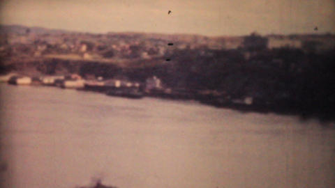 Quebec City And Saint Lawrence Seaway 1958 Vintage 8mm film Footage