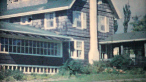 Family Vacation on East Coast Of Canada 1958 Vintage 8mm film Footage