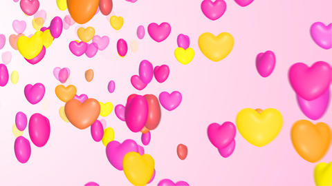 Colorful Heart stock footage