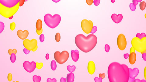 Colorful heart Animation
