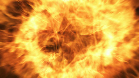 Burning fire Stock Video Footage