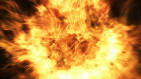 Burning Fire stock footage