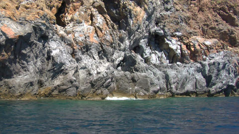eolian island coast 03 Footage