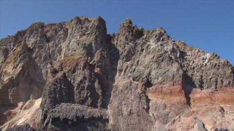 eolian island pattern 02 Stock Video Footage